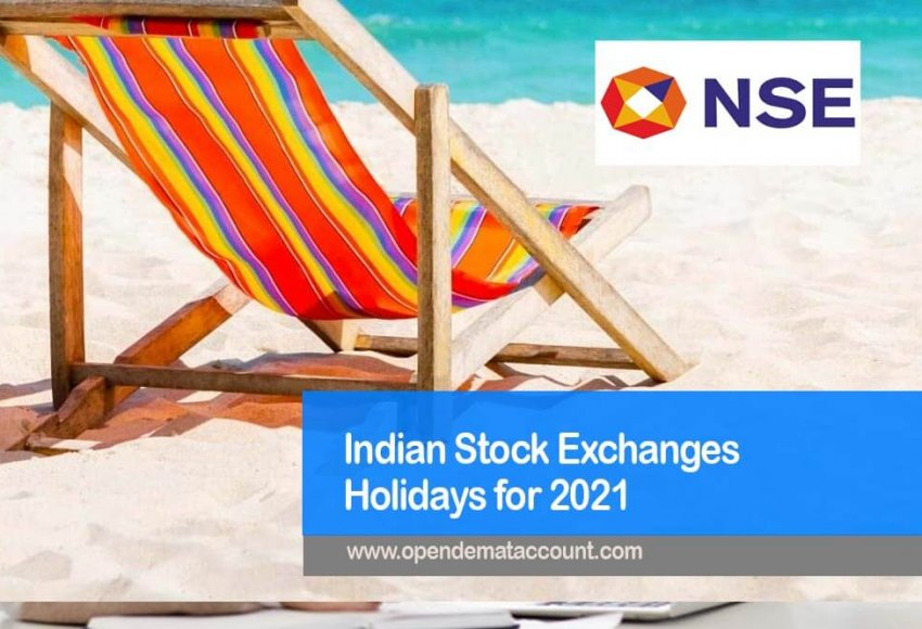 List of 2021 India National Stock Exchange Market Holidays